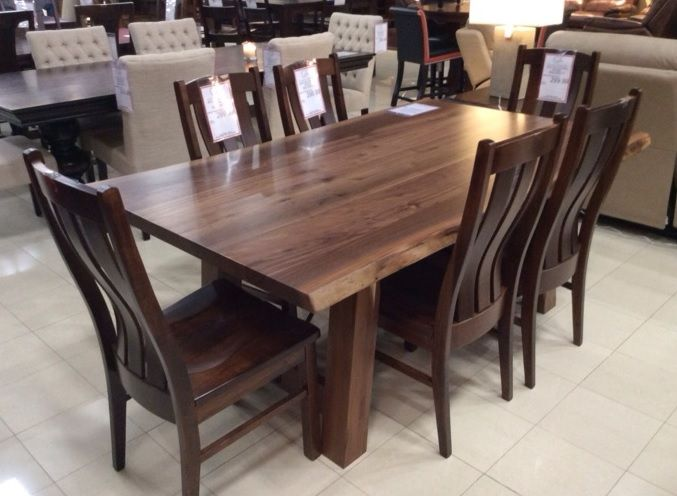 The Addition Of This Solid Wood American Made Dining Set Will Totally Transform Your Room Is Also Eco Friendly So You Can Feel Good About