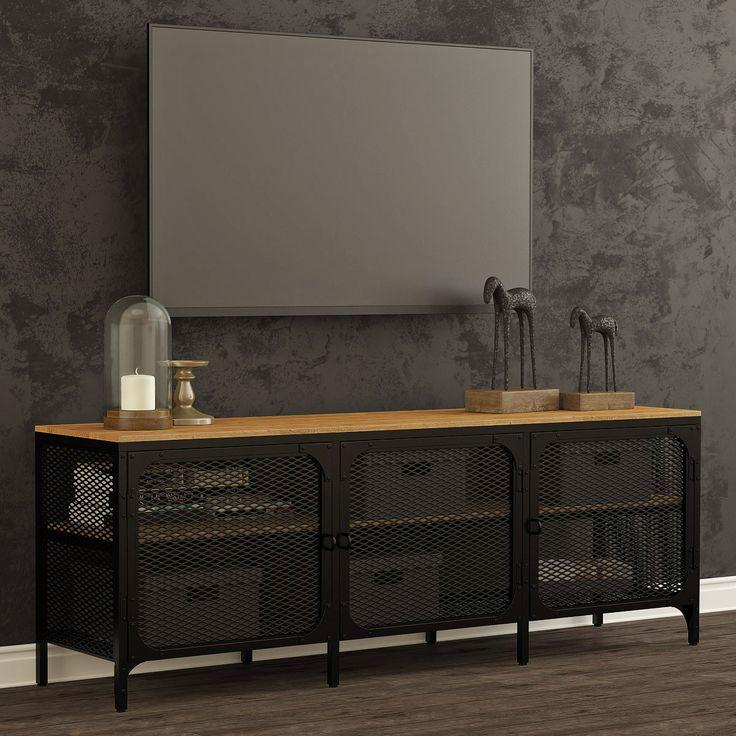 les 11 meilleures images du tableau meuble tv sur pinterest meuble tv meubles industriels et. Black Bedroom Furniture Sets. Home Design Ideas