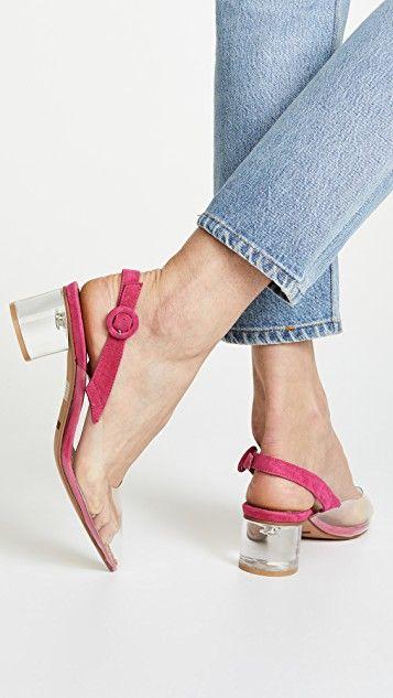 2ceb706875e Matiko Zuma Block Heel Pumps Pink
