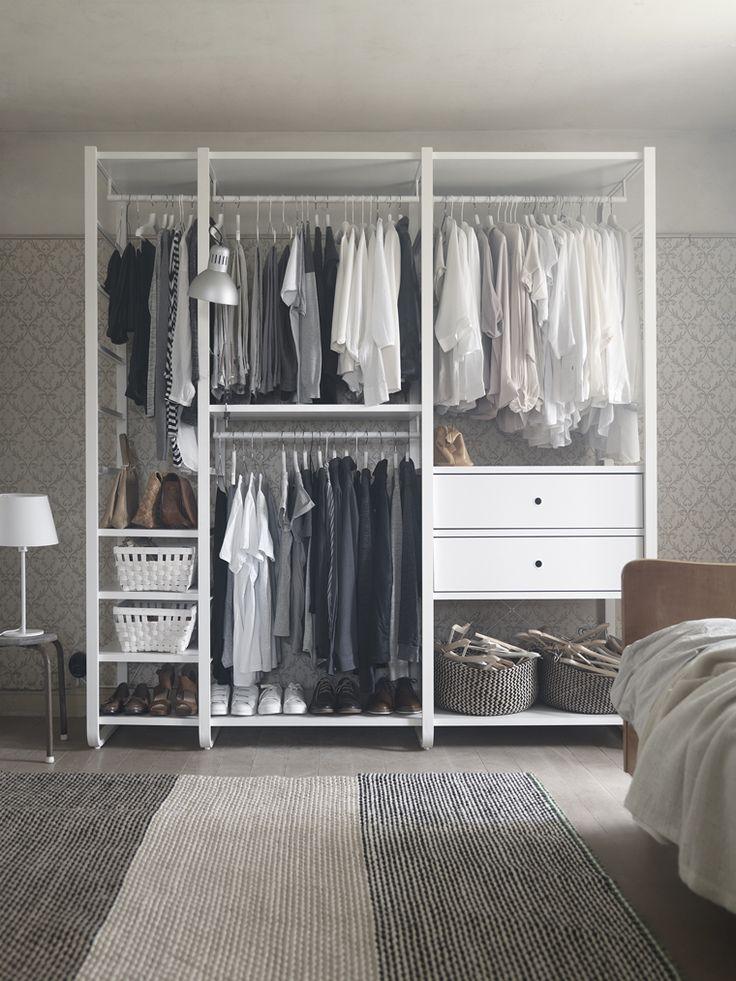 Ikea elvari 3sektioner l dor vit c l o s e t s pinterest armarios modulares modulares y ikea - Ikea armarios modulares ...