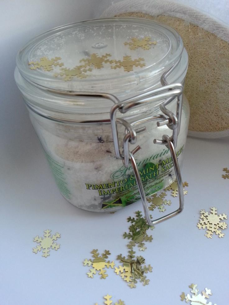 Fountain Pimento and Mint Medley Bath Salts