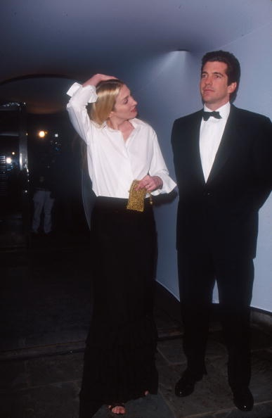 John F Kennedy Jr and Caroline Bessette