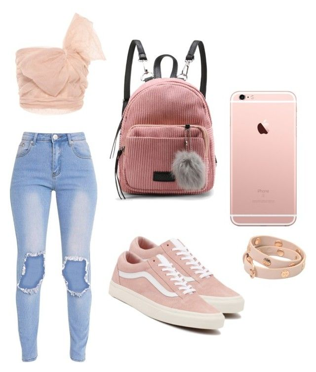 """Cute outfit."" by saez-javita on Polyvore featuring moda, RED Valentino, Vans y Tory Burch"