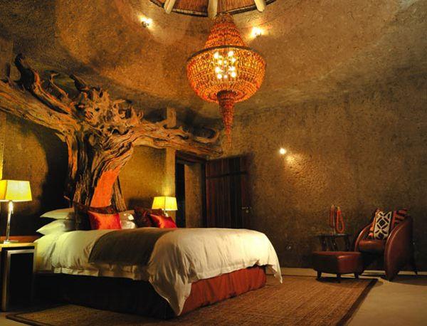 lodge in the Sabi Sabi Game Reserve, South Africa