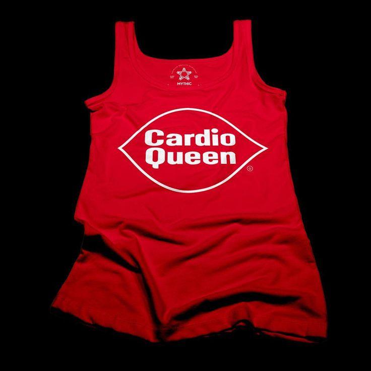 Women's Cardio Queen tank top.