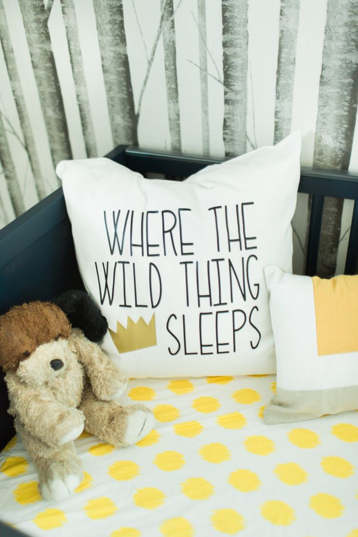 "Nursery Decor for a ""Where the Wild Things Are"" themed nursery!"