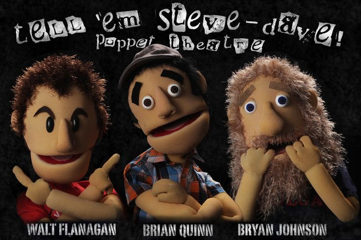 The unheard nerd tell em steve dave puppet theatre poster preview