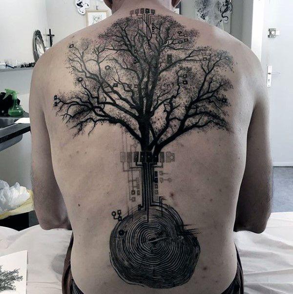 Best 25+ Men Back Tattoos Ideas On Pinterest