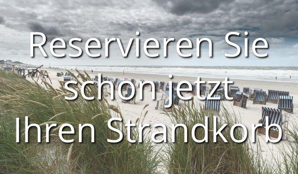 Reservieren Sie jetzt schon Ihren Strandkorb auf Norderney.