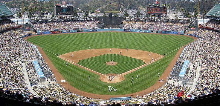 Los Angeles Dodgers 1962... Dodger Stadium, Elysian
