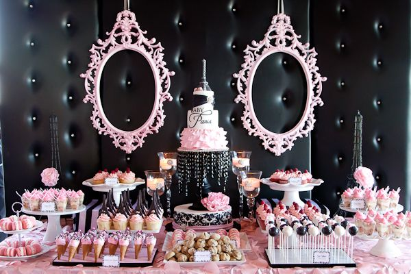 baby shower ideas 2013 | Parisian Baby Shower - Design Dazzle