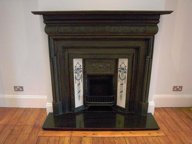 Edwardian Fire Place, Fireplace and granite hearth For Sale in Wembley, Middlesex | Preloved