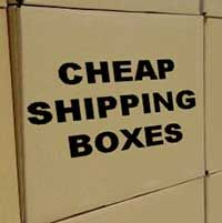 Where to find cheap shipping boxes for your business