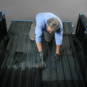 How to Apply a Brush-In Truck Bed Liner