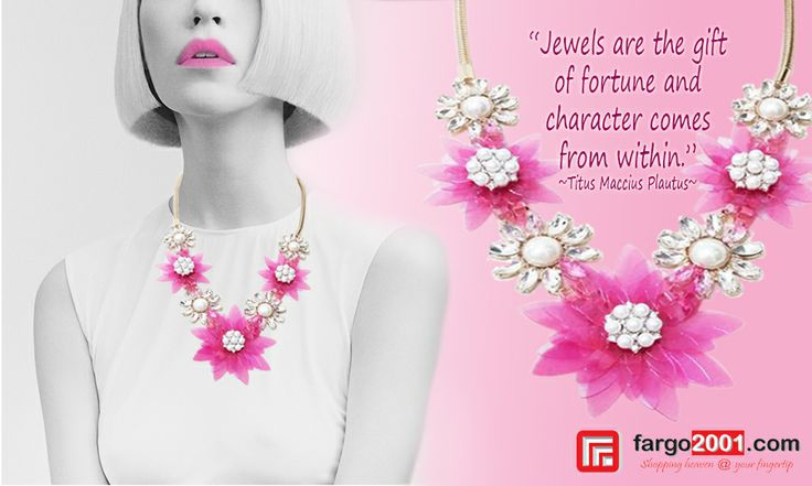 The color of Pink makes everything look pretty ! Get a variety of Fashion Accessories only at Fargo2001.com ! http://fargo2001.com/fashion-299/accessories-300