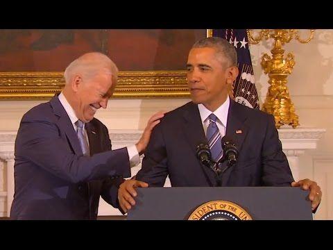Obama's Tribute to Joe Biden (Full Speech) | ABC News - YouTube