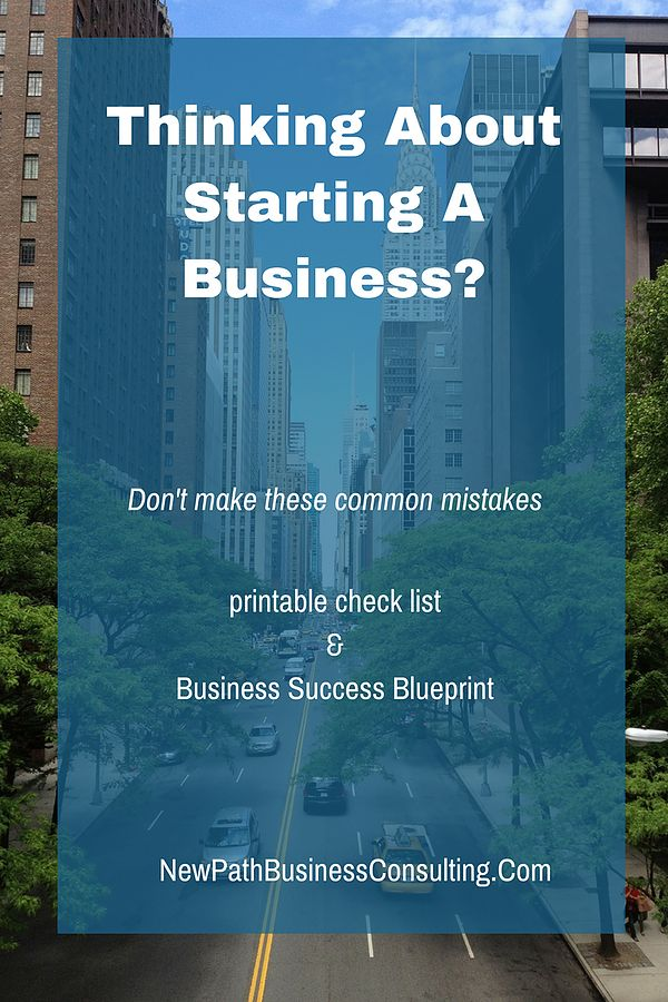 Starting A Business? Don't make these common mistakes. Even if it is an online business this printable checklist will help you get started successfully and transition to a solid income.