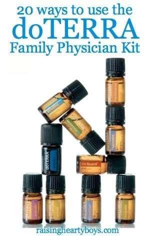 20 ways to use the doTERRA Essential Oils Family Physician Kit to help your family stay well?