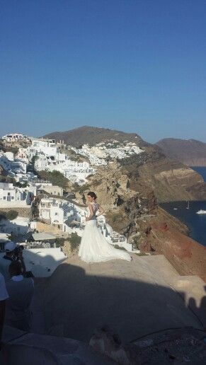 Wedding pictures,  oia- santorini