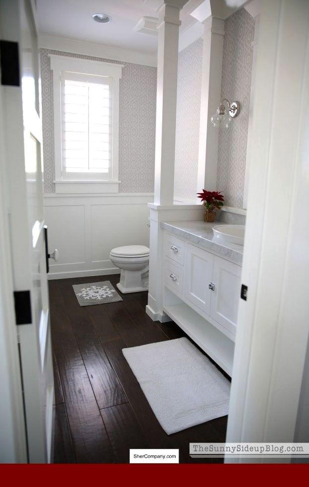 Homemade Wood Flooring Ideas Contemporary Laminate Flooring Ideas And Pics Of New Living Room Flo Wood Floor Bathroom White Bathroom Cabinets Classic Bathroom