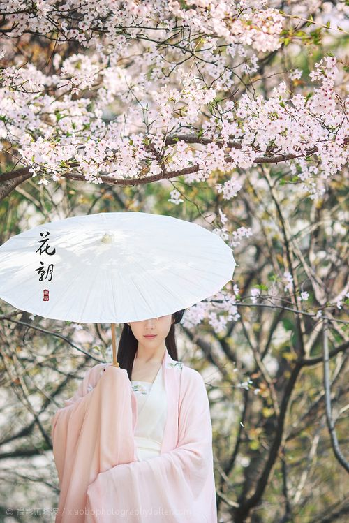 Traditional Chinese fashion, hanfu. Photoed by 摄影师晓波