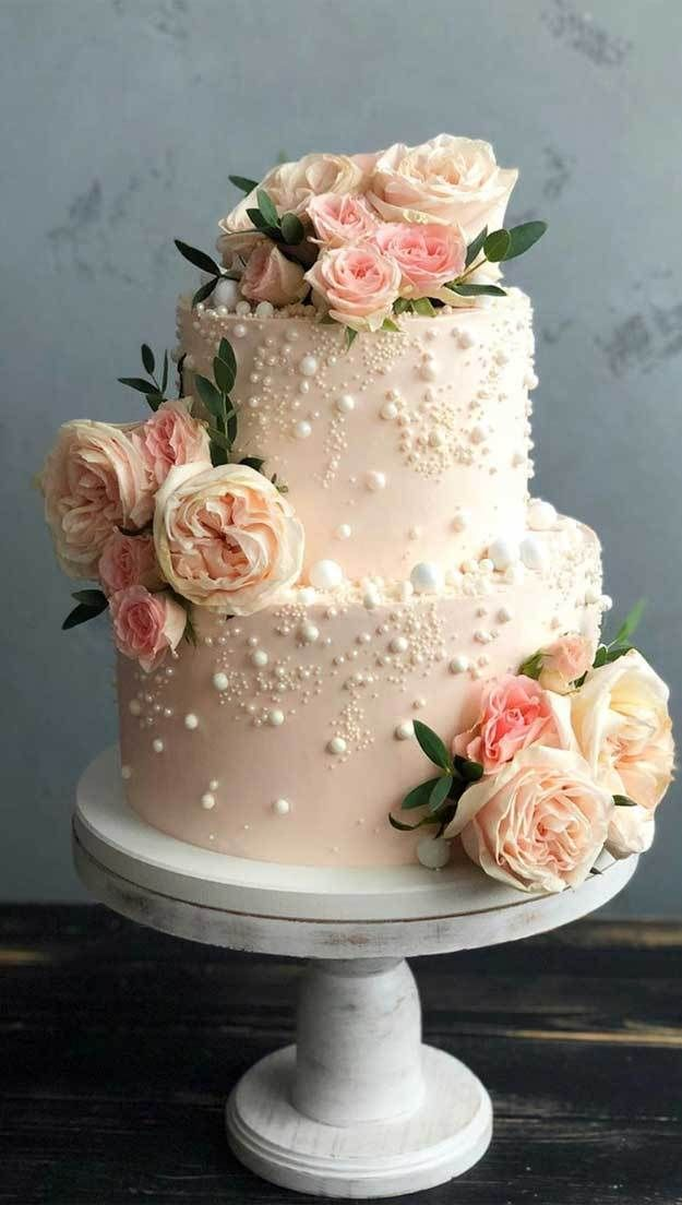 35 Pretty Cake Designs For Any Celebration Pretty Birthday Cake Ideas Celebration Cakes Cake Simple Wedding Cake Elegant Wedding Cakes Pretty Wedding Cakes