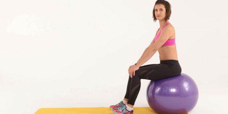 Comment muscler ses fesses avec un swiss ball