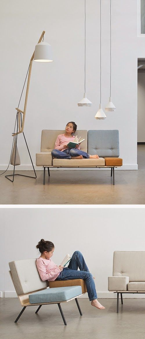 TO BE SHELVED: Reading-friendly furniture and lighting from Aust & Amelung