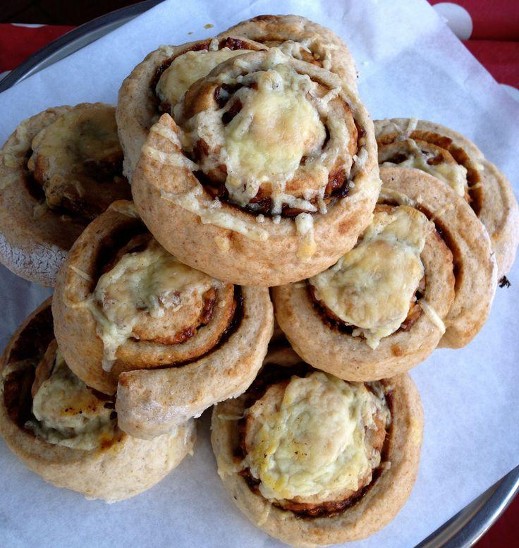 Gluten Free cheese & Vegemite scrolls from Gluten Free Cookie Co