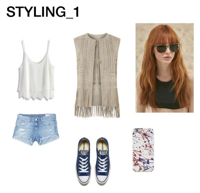 STILING_1 (SUMMER) by alyants-stylist on Polyvore featuring мода, Chicwish, Elie Tahari, rag & bone/JEAN, Converse and Prism