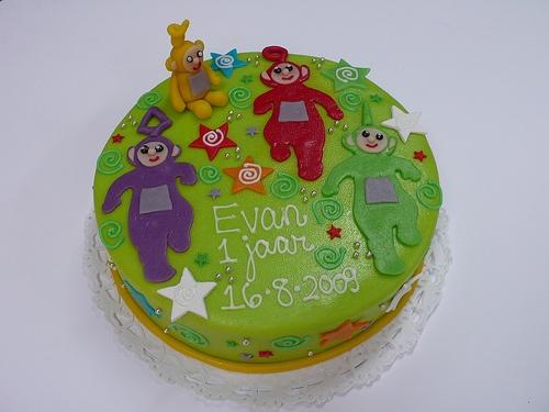 Teletubbie birthday cake