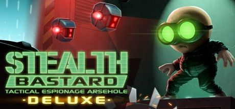 [Stealth Bastard Deluxe] A fun and challenging 2D stealth puzzle platformer with a distinctive theme and awesome soundtrack. Lots of levels to play through and secrets to find. #Gaming #VideoGames #Stealth #Platformer #IndieGames