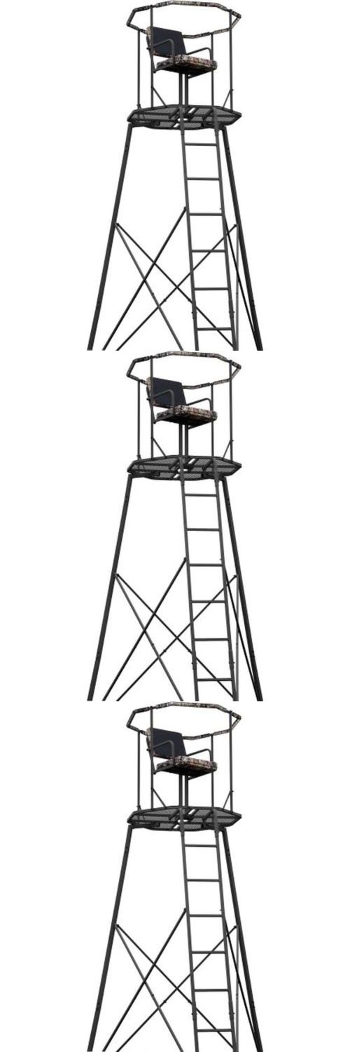 Tree Stands 52508: 15 Tripod Hunting Stand With Seat Tree Deer Ladder Bow Treestand Realtree New -> BUY IT NOW ONLY: $217.97 on eBay!