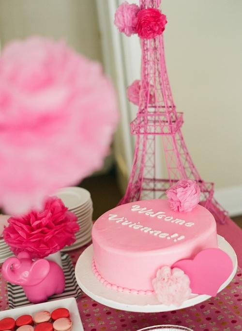 Parisian Pink Baby Shower