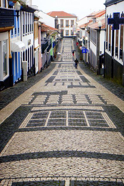 CALÇADA PORTUGESA - TERCEIRA - AÇORES - PORTUGAL | Flickr - Photo Sharing!