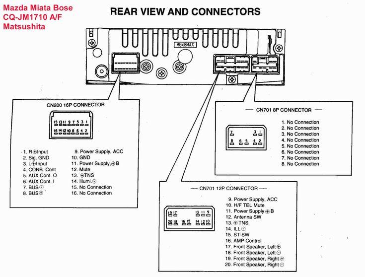 15  1999 Mazda Protege Car Stereo Wiring Diagram