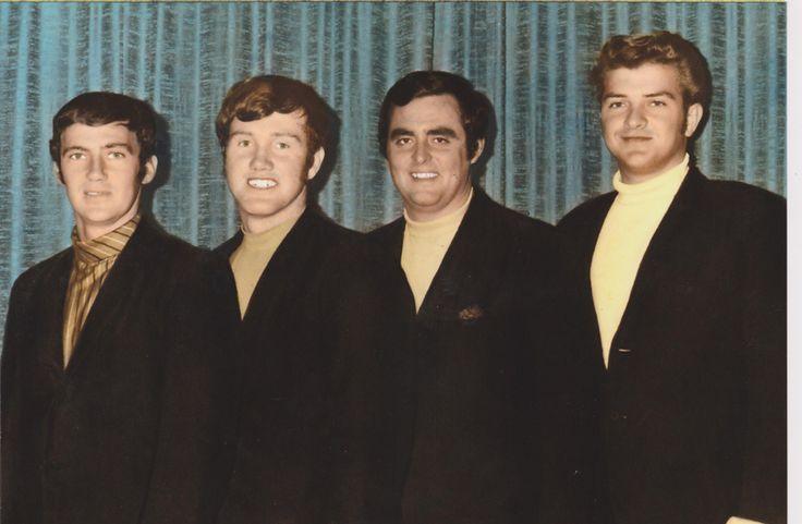 L to R: Len Richardson, Roger Hill, Denis Hutchinson (dec), Owen Ray. Taken 1968