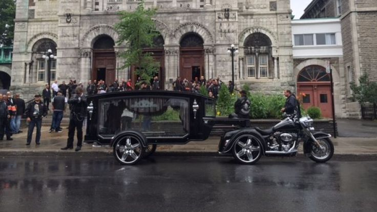 The weekendfuneral of a Hells Angel member provided valuable information…