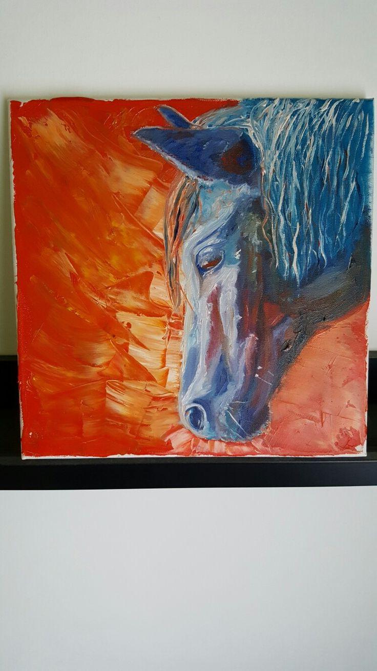Oil horse