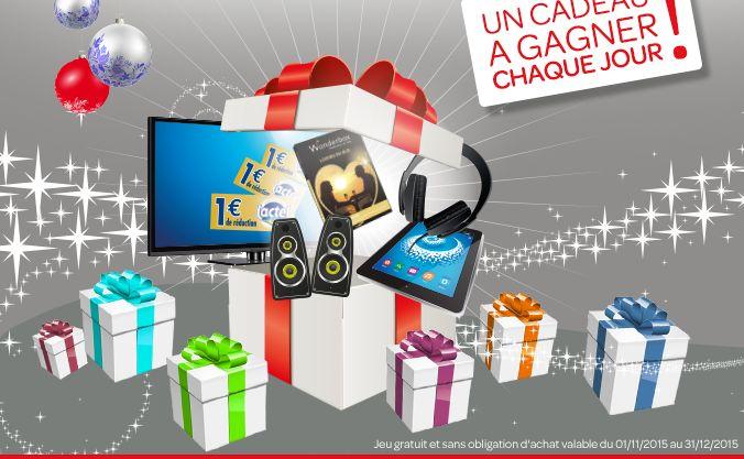 Lactel veut vous chouchouter pour Noël et vous propose plein de cadeaux à gagner aux instants gagnants ! Les dotations « semaines » sont les suivantes : 1 console de jeux PS4 avec jeu Fifa 2016 de 500€ 1 ordinateur portable Acer 15,6'' de 399€ 1 Smartphone 4G Samsung de 399€ 1 TV écran platLire la suite