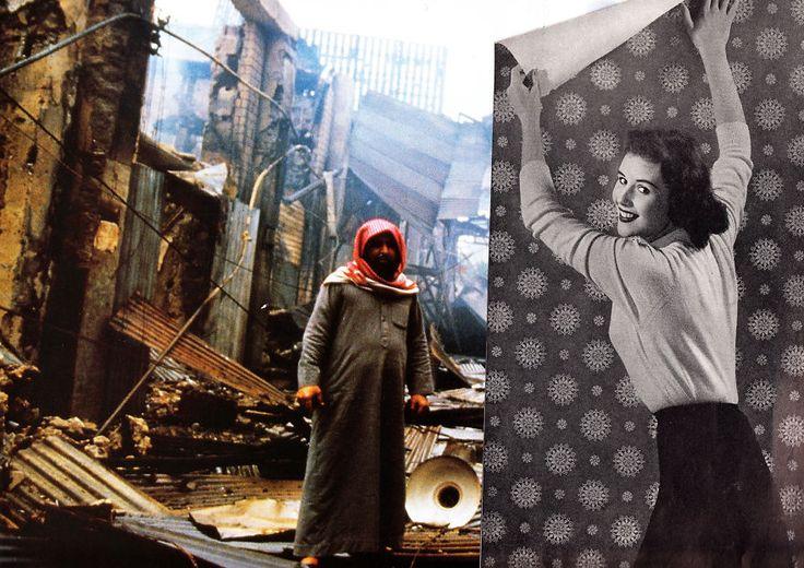 Les collages cyniques de Joe Webb  2Tout2Rien