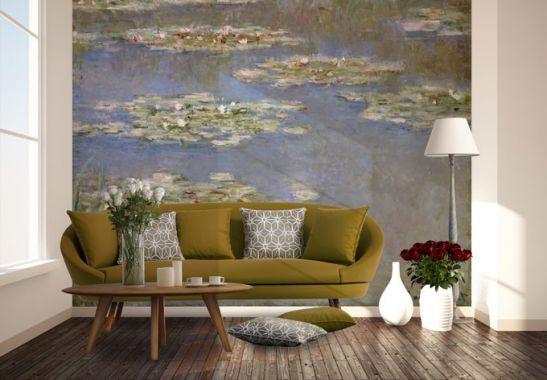Fotobehang Monet - Waterlelies 1905 - wall-art.nl