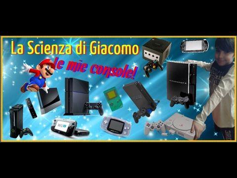 ★La Scienza di Giacomo★Ecco tutte le mie console per i videogiochi! ◆ Th...