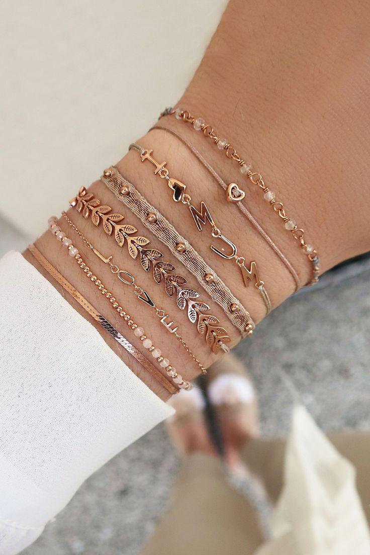 Wunderschöne Schmuckstücke und die schönste Botschaft – sei nett und lieb …   – Hippie armbänder