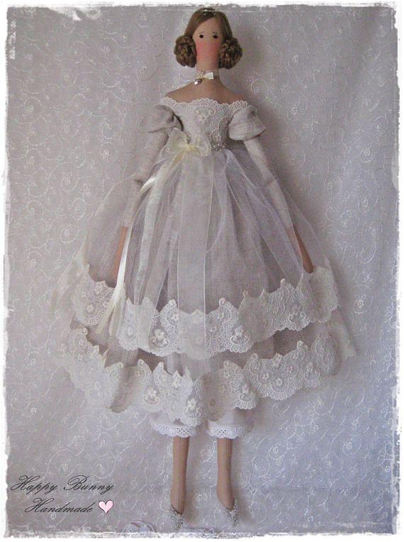 Tilda doll Primitive doll Fabric Handmade doll Textile doll