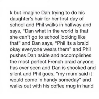 """Aw! """" My mum said it'll come in handy one day """" That's so cute! #AmazingPhilisAmazing"""