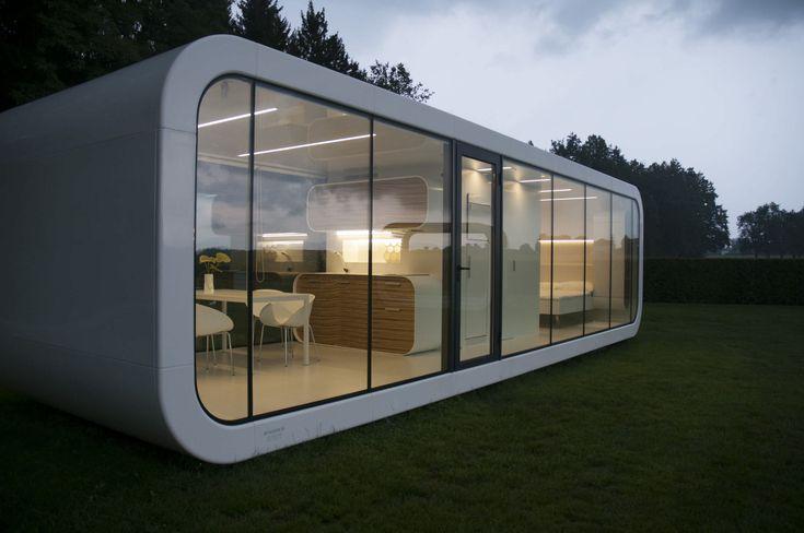 Micro-maison préfabriquée / modulaire / contemporaine / écologique 32 Coodo