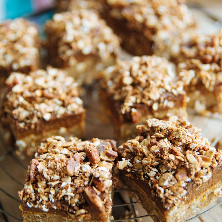 Pumpkin crumble repen - In Love With Health