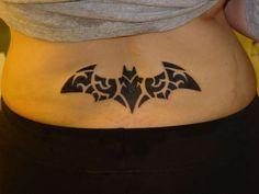 Tribal Batman Tattoo Logo