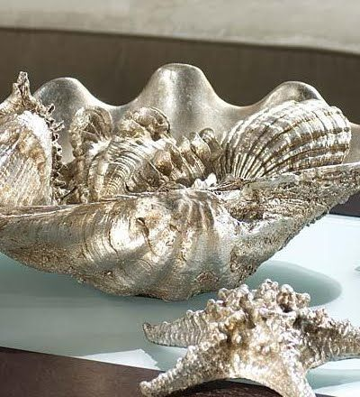 Where to Buy Faux Giant Clam Shells Online to Use as Planters, Vases and Sculptures